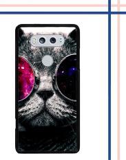 Casing HARDCASE Bergambar Motif Untuk LG V20 Cat Glasses L0013 Case