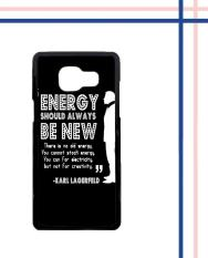 Casing HARDCASE Bergambar Motif Untuk Samsung Galaxy A3 2016 SM-A310 Karl Lagerfeld quote
