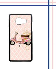 Casing HARDCASE Bergambar Motif Untuk Samsung Galaxy A3 2016 SM-A310 vespa classic pink L0796