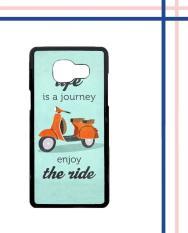 Casing HARDCASE Bergambar Motif Untuk Samsung Galaxy A5 2016 SM-A510 The Ride Vespa E0618