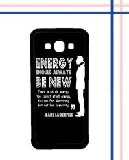 Casing HARDCASE Bergambar Motif Untuk Samsung Galaxy A7 2015 SM-A700 Karl Lagerfeld quote