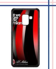 Casing HARDCASE Bergambar Motif Untuk Samsung Galaxy A8+ A8 Plus 2018 AC Milan 2 Case