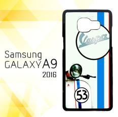 Casing HARDCASE Bergambar Motif Untuk Samsung Galaxy A9 2016 SM-A910 Vespa Logo E0617