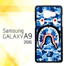 Casing HARDCASE Bergambar Motif Untuk Samsung Galaxy A9 Pro / A9 2016 Supreme Shark Blue E1387 Case