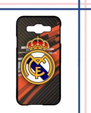 Casing HARDCASE Bergambar Motif Untuk Samsung Galaxy E5 Real Madrid FC Logo Black E1442 Case