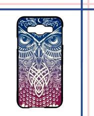 Casing HARDCASE Bergambar Motif Untuk Samsung Galaxy E5 Tribal Owl wallpapers I0003 Case