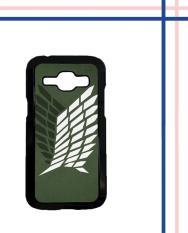 Casing HARDCASE Bergambar Motif Untuk Samsung Galaxy J1 2015 SM-J100 Attack on Titan Survey Logo