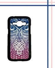 Casing HARDCASE Bergambar Motif Untuk Samsung Galaxy J1 2015 SM-J100 Tribal Owl wallpapers I0003 Case