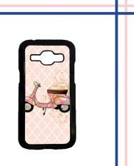 Casing HARDCASE Bergambar Motif Untuk Samsung Galaxy J1 2016 SM-J110 vespa classic pink L0796