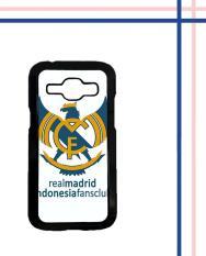 Casing HARDCASE Bergambar Motif Untuk Samsung Galaxy J1 ACE Real Madrid Indonesia Case