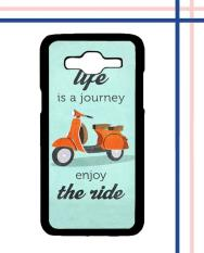 Casing HARDCASE Bergambar Motif Untuk Samsung Galaxy J2 2016 SM-J210 The Ride Vespa E0618