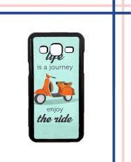 Casing HARDCASE Bergambar Motif Untuk Samsung Galaxy J3 2016 SM-J310 The Ride Vespa E0618