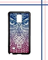 Casing HARDCASE Bergambar Motif Untuk Samsung Galaxy NOTE 4 Tribal Owl wallpapers I0003 Case