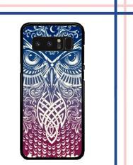 Casing HARDCASE Bergambar Motif Untuk Samsung Galaxy NOTE 8 Tribal Owl wallpapers I0003 Case
