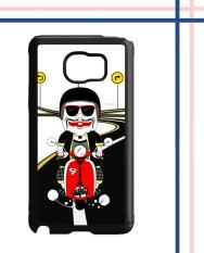 Casing HARDCASE Bergambar Motif Untuk Samsung Galaxy NOTE FE FAN EDITION semar otw with vespa L0775