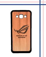 Casing HARDCASE Bergambar Motif Untuk Samsung Galaxy On7 2015 / On7 Pro logo asus rog Case