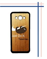 Casing HARDCASE Bergambar Motif Untuk Samsung Galaxy On7 2015 / On7 Pro Sloth Just Do It