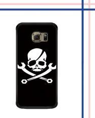 Casing HARDCASE Bergambar Motif Untuk Samsung Galaxy S6 EDGE PLUS Superman Is Dead Outsider