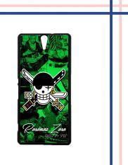 Casing HARDCASE Bergambar Motif Untuk Sony Xperia C5 / C5 Ultra Roronoa Zoro ONE PIECE W5121 Case