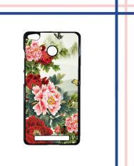 Casing HARDCASE Bergambar Motif Untuk Xiaomi Redmi 3S / Redmi 3X / Redmi 3 PRO Prime flower cute T0274