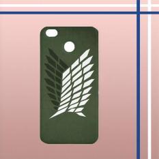 Casing HARDCASE Bergambar Motif Untuk Xiaomi Redmi 4X Attack on Titan Survey Logo