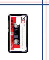 Casing HARDCASE Bergambar Motif Untuk Xiaomi Redmi Note 3 PRO / Redmi Note 3 Sony Kaset Tua E0626