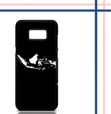 Casing Hardcase Gambar Motif Peta Indonesia Jokowi Selfie Untuk Hp Samsung Galaxy S8 Case Cover