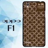 Harga Casing Hardcase Hp Oppo F1 Coach Pattern X4859 Cases Original