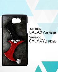 Casing Hardcase Samsung Galaxy J7 Prime BATMAN HARLEY MERGE OF THE SYMBOL Z1099 Case Cover