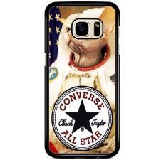 Casing Hardcase Samsung Galaxy Note 5 Motif Astronaut Cat Converse W3097