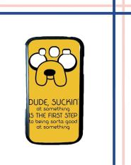 Casing HARDCASE untuk hp Samsung Galaxy Grand Duos Tv Show Adventure Time Jake The Dog M0051