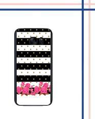 Harga Casing Hardcase Untuk Hp Samsung Galaxy S7 Flat Vintage Rose E0613 New