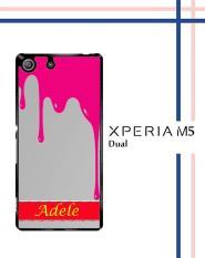 Casing HARDCASE untuk hp Sony Xperia M5 Dual pink choco T0057
