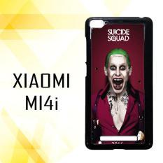 Casing HARDCASE untuk hp Xiaomi Mi 4i Suicide Squad Movies Joker Poster 2016 M00040