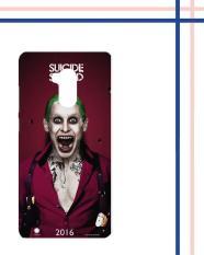 Casing HARDCASE untuk hp Xiaomi Redmi 4 Prime Suicide Squad Movies Joker Poster 2016 M00040