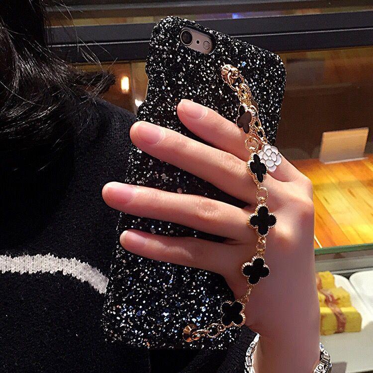 Casing HP Oppoa59 Perhiasan Yang Berkelip-Kelip Hardcase A57 Fortun Leave Gelang
