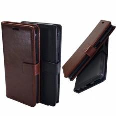 Casing Hp Sony xperia M2 Elegant Flip Leather Wallet Case