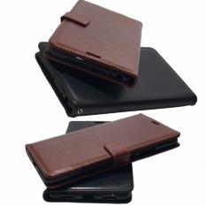 Casing Hp Sony Xperia Z Ultra Kulit PU Elegant Flip Leather Wallet Case
