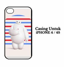 Casing IPHONE 4S anime big hero 6 baymax Hardcase Custom Case Cover