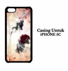 Casing IPHONE 5C Anime Inuyasha Hardcase Custom Case Cover