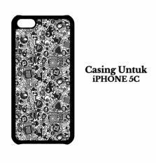 Casing IPHONE 5C art pop art concept Hardcase Custom Case Cover