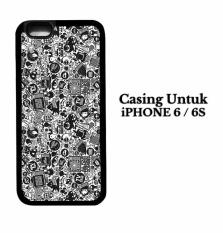 Casing IPHONE 6 art pop art concept Hardcase Custom Case Cover
