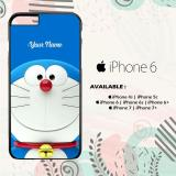 Jual Casing Iphone 6 Custom Hardcase Hp Doraemon 3D Name L0130 Cases Original
