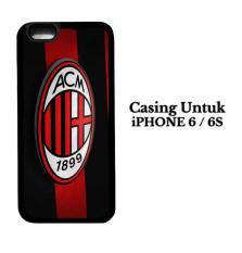 Casing IPHONE 6S AC Milan 3D Logo Hardcase Custom Case Cover