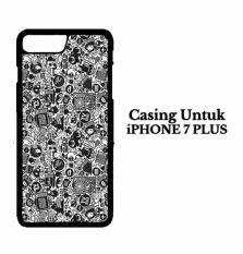 Casing IPHONE 7 PLUS art pop art concept Hardcase Custom Case Cover