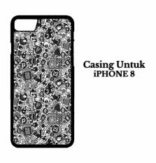Casing IPHONE 8 art pop art concept Hardcase Custom Case Cover