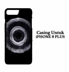 Casing IPHONE 8 PLUS Jet Black dye Hardcase Custom Case Cover