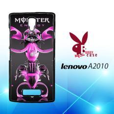 Casing Lenovo A2010 Custom Hardcase HP Monster Energy Fantasy Moto Acid L1844