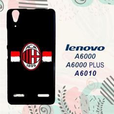 Casing Lenovo A6000 | A6000 Plus | A6010 Custom Hardcase HP AC Milan Logo Simple L0103