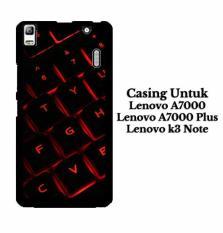Casing LENOVO A7000 red light keyboard Hardcase Custom Case Cover